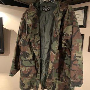 Boutique Camo Jacket